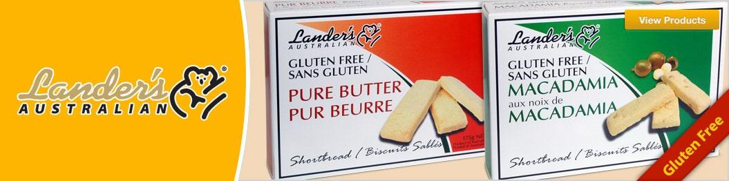 Tosuta - Landers Gluten Free Shortbread