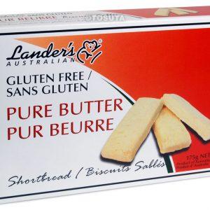 Landers Gluten Free Shortbread - Butter
