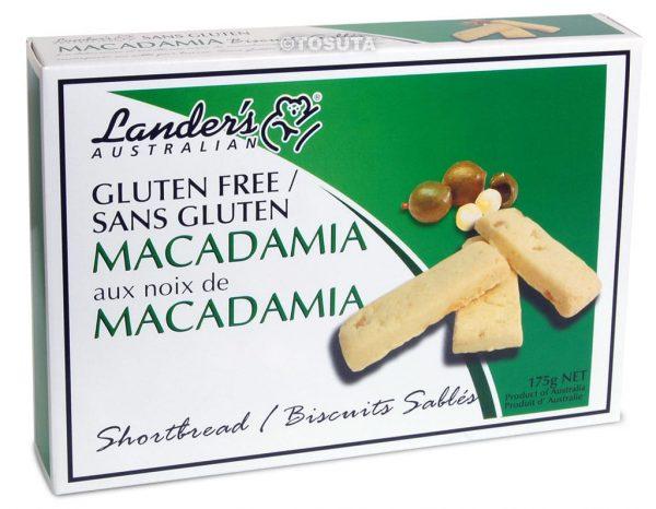 Landers Gluten Free Shortbread - Macadamia