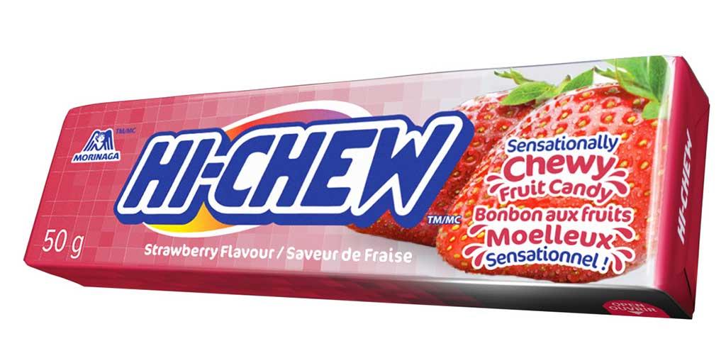 50g Hi-Chew Strawberry STICK - Canada