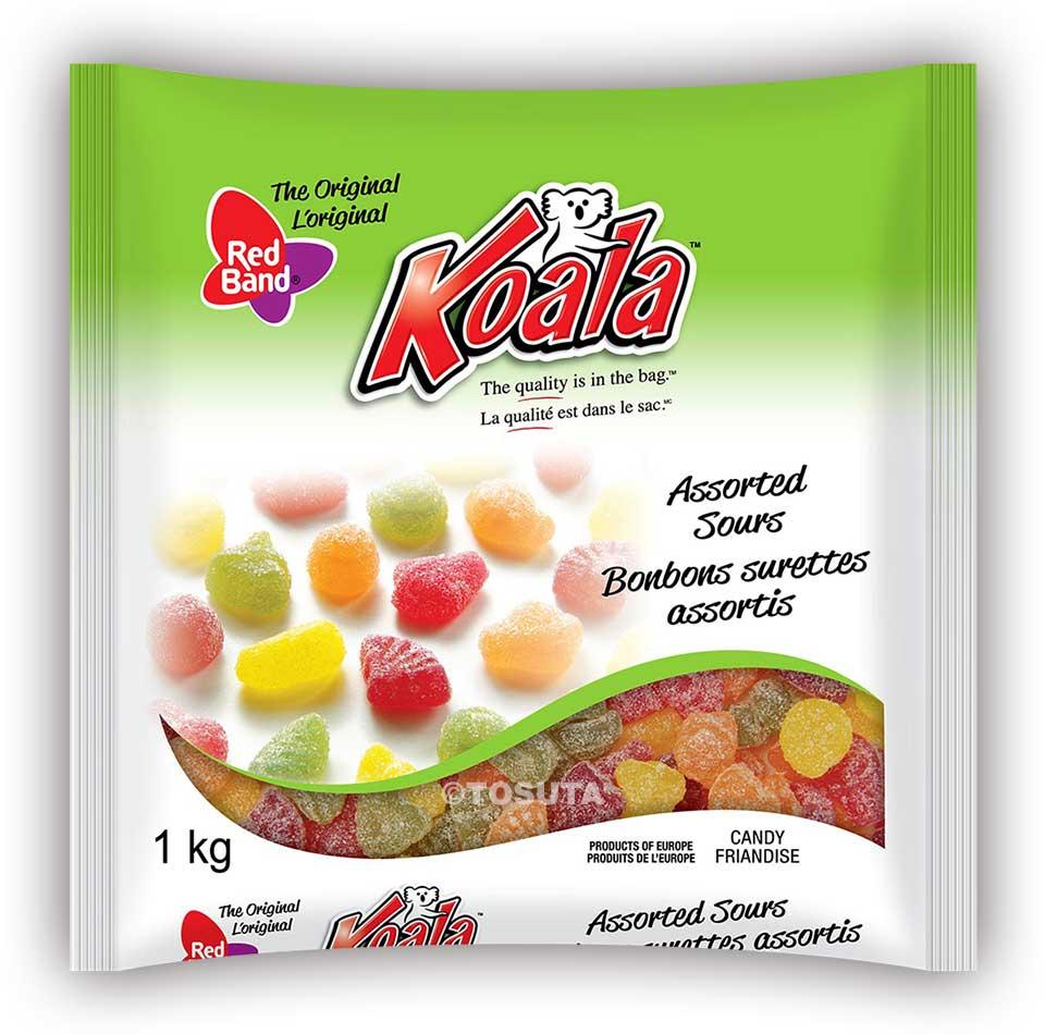 Koala-Red-Band-Pillow-Bags-AssortedSours