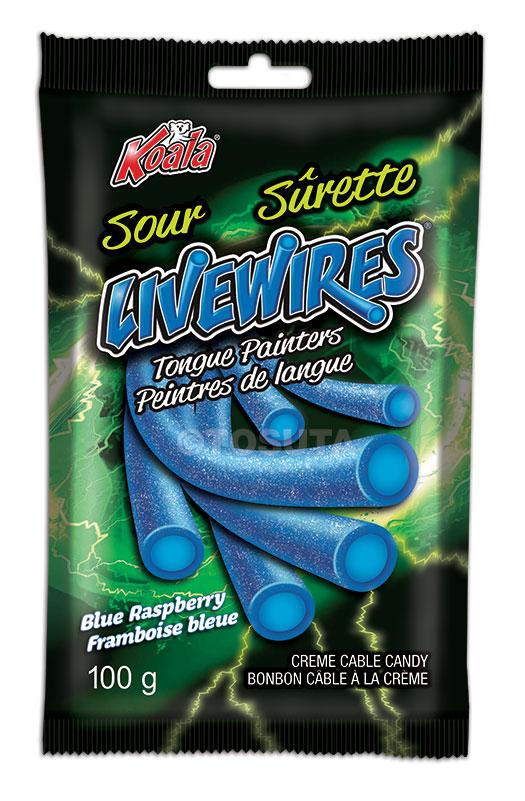 Livewires Sour Tongue Painters - Blue Raspberry - Peg Bag