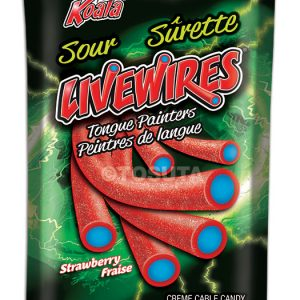 Livewires Tongue Painters - Strawberry- Peg Bag